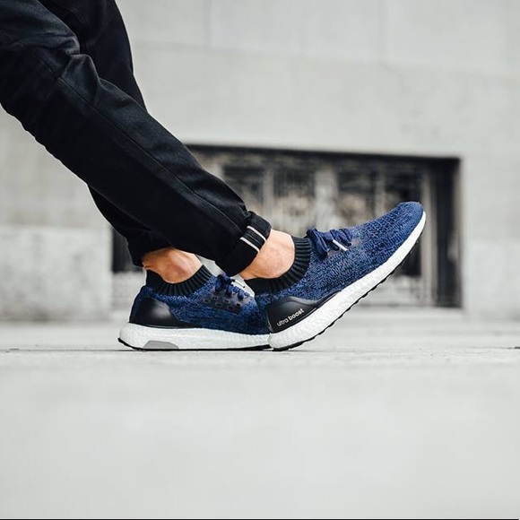 half off 8b05e 2f115 reduced adidas ultra boost uncaged navy blue 252e8 90fe4